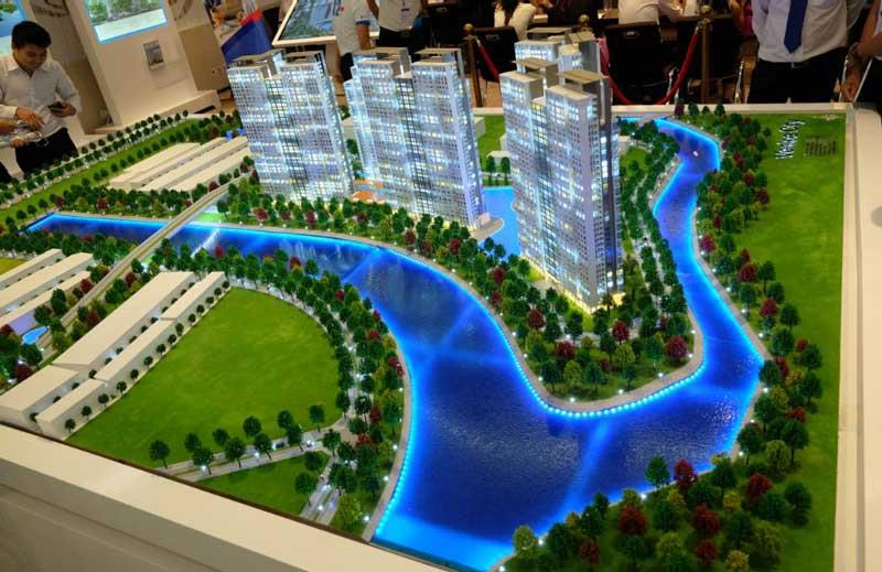 Phối cảnh dự án Gem Riverside