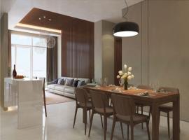 Phòng khách tại dự án Gem Riverside