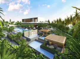 bể bơi tại dự án FLC Eco Charm
