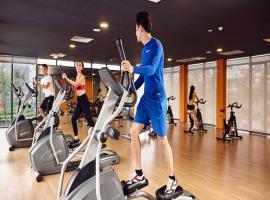 Phòng tập gym tại dự án K35 Tân Mai