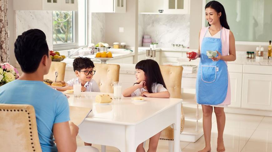 Phòng bếp tại dự án K35 Tân Mai