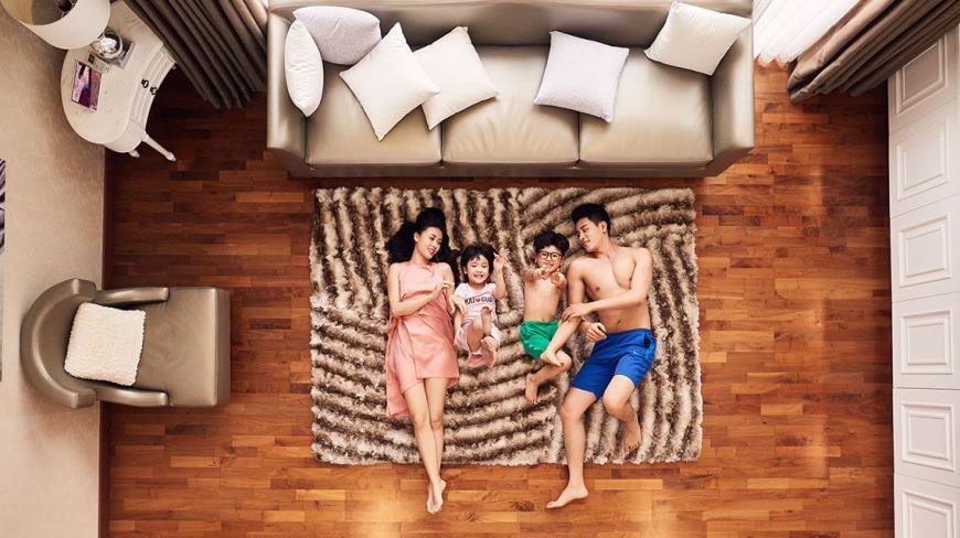 Phòng ngủ tại dự án K35 Tân Mai