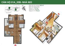 Căn hộ 01a, 05b tòa N03 dự án K35 Tân Mai
