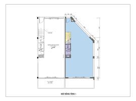 Mặt bằng tầng 1 dự án Khai Sơn