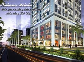 Trung tâm thương mại tại dự án Vinhomes Melodia