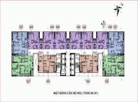 Mặt bằng N02 dự án Vinhomes Melodia