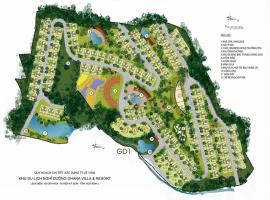 Mặt bằng phân khu tổng thể dự án Ohara Villas Reso