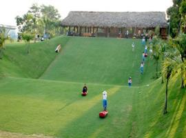 Khu trượt cỏ tại dự án Ohara Villas Resort