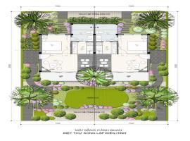 Mặt bằng cảnh quan tại dự án Ohara Villas Resort