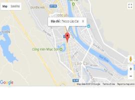 Vị trí dự án Tecco Lào Cai