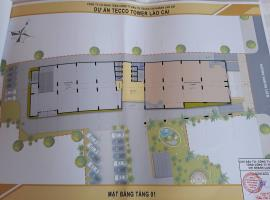 Mặt bằng tầng 1 dự án Tecco Lào Cai