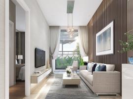 Phòng khách mẫu 2 tại dự án Quinter Residence