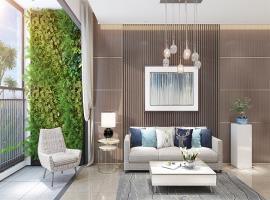 Phòng khách tại dự án Quinter Residence