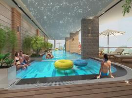 Bể bơi tạii dự án Quinter Residence