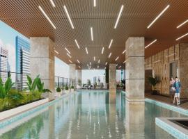 bể bơi tại chung cư Bohemia Nguyễn Huy Tưởng
