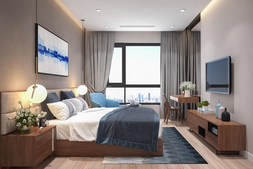 Phòng ngủ lớn tại dự án 6TH Element