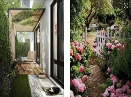 Cảnh quan tại dự án Rosita Garden Khang Điền