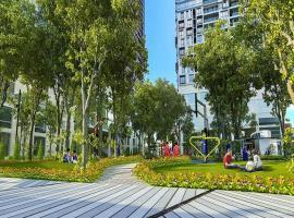 Công viên cây xanh tại dự án The Pegasuite 2