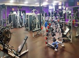 Phòng gym tại dự án The Pegasuite 2