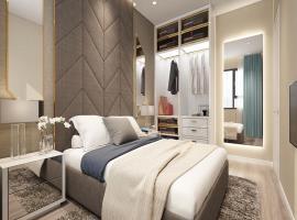 Phòng ngủ tại dự án The Pegasuite 2