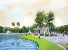 Quảng trường tại dự án golden bay cam ranh
