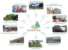 Công viên ngoại khu tại dự án The Parkland