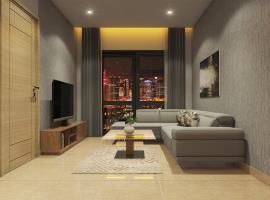 Phòng khách tại dự án The Parkland