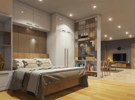 Phòng ngủ tại dự án The Parkland