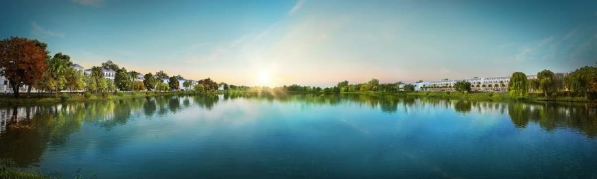 Dòng sông thơ mộng ngay dự án River Park