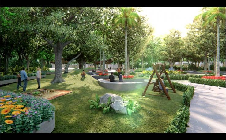 Không gian sống tại dự án River Park
