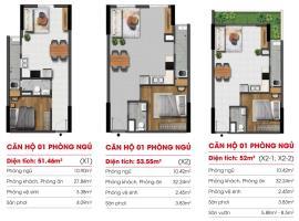 Căn hộ 01 phòng ngủ tại dự án Marina Riverside