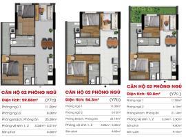 Căn hộ 02 phòng ngủ Y7A, Y7C  tại dự án Marina Riv