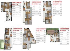 Căn hộ 03 phòng ngủ tại dự án Marina Riverside