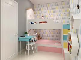 Phòng ngủ cho trẻ tại dự án Marina Riverside
