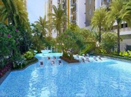 Bể bơi tại dự án Eco green sai gon