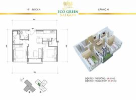 A1 Căn hộ Eco Green Saigon