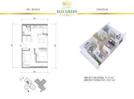 A8 Căn hộ Eco Green Saigon