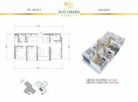 Căn hộ B11 tại dự án Eco green sai gon