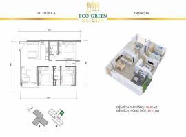B6 Căn hộ Eco Green Saigon