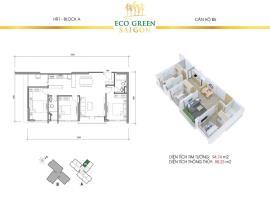 B5 Căn hộ Eco Green Saigon
