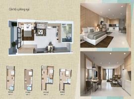 Thiết kế căn hộ 1 phòng ngủ tại dự án Wateway