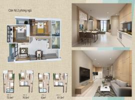 Thiết kế căn hộ 2 phòng ngủ tại dự án Wateway