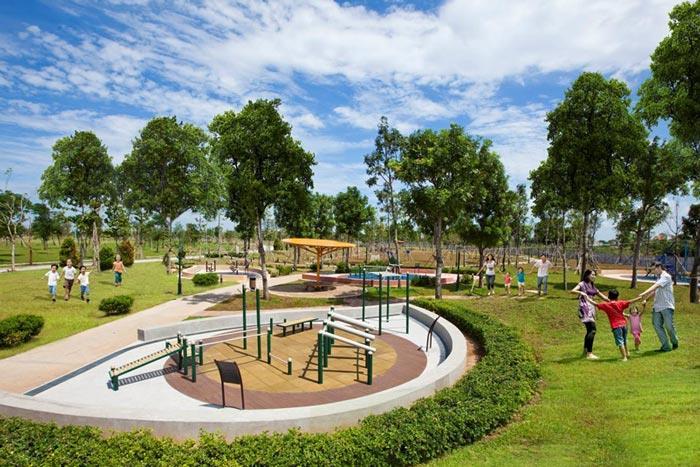 Khu thể thao tại dự án Thuận Đạo Residence