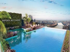 Bể bơi vô cực tại dự án Imperia Sky Garden