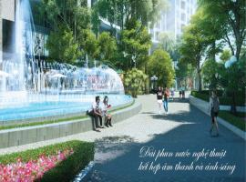 Đài phun nước tại dự án Imperia Sky Garden
