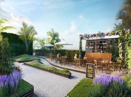 Lầu vọng cảnh tại dự án Imperia Sky Garden