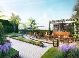 Sky bar tại dự án Imperia Sky Garden
