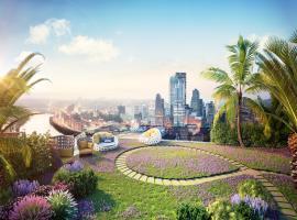 Vườn chân mây tại dự án Imperia Sky Garden