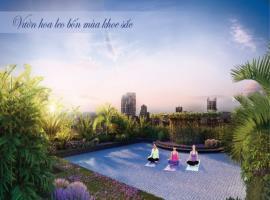 Vườn hoa leo tại dự án Imperia Sky Garden