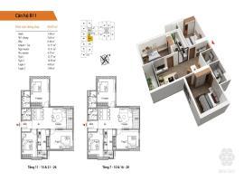11 Tòa B tầng 16-Chung cư Bea Sky Nguyễn Xiển